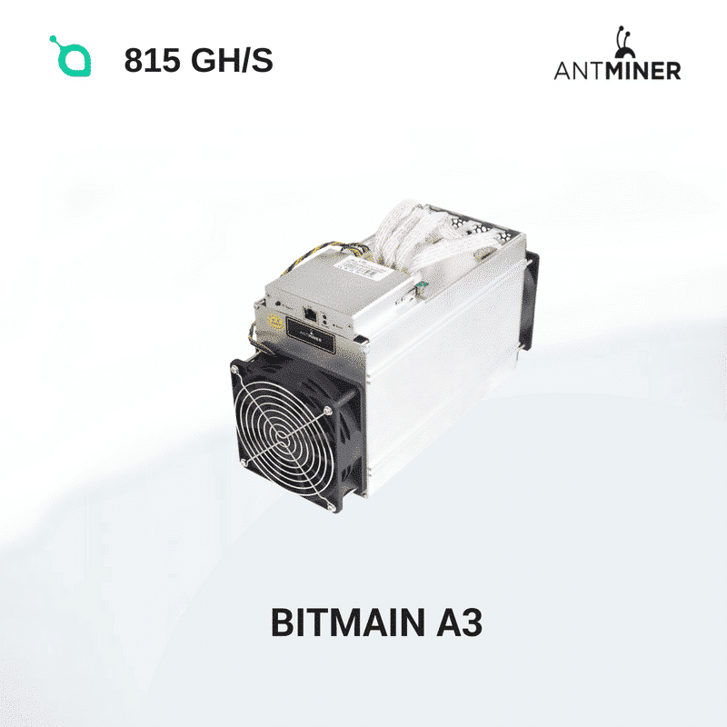 Bitmain Antminer A3 - Siacoin 815 GH/S