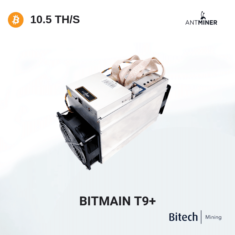 Bitmain Antminer T9+ - Bitcoin 10.5TH/S