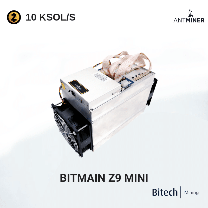 Bitmain Antminer Z9 Mini - ZCash 10 KSOL/S