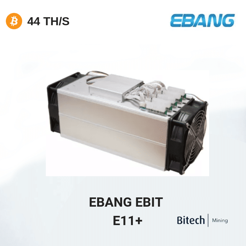 Ebang E11++ - Bitcoin 44TH/S