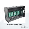Mining Case 6 GPU FULLY EQUIPPED