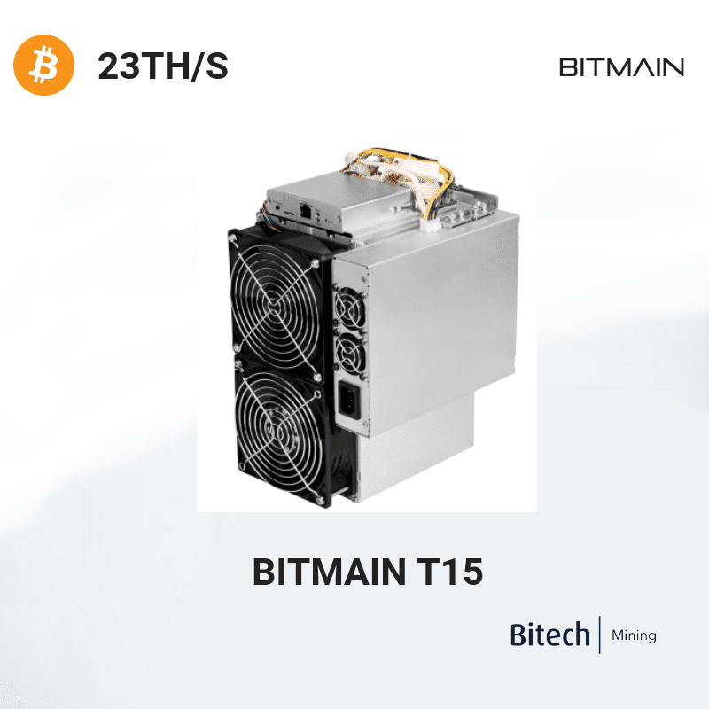 Bitmain Antminer T15 - Bitcoin 23 TH/S